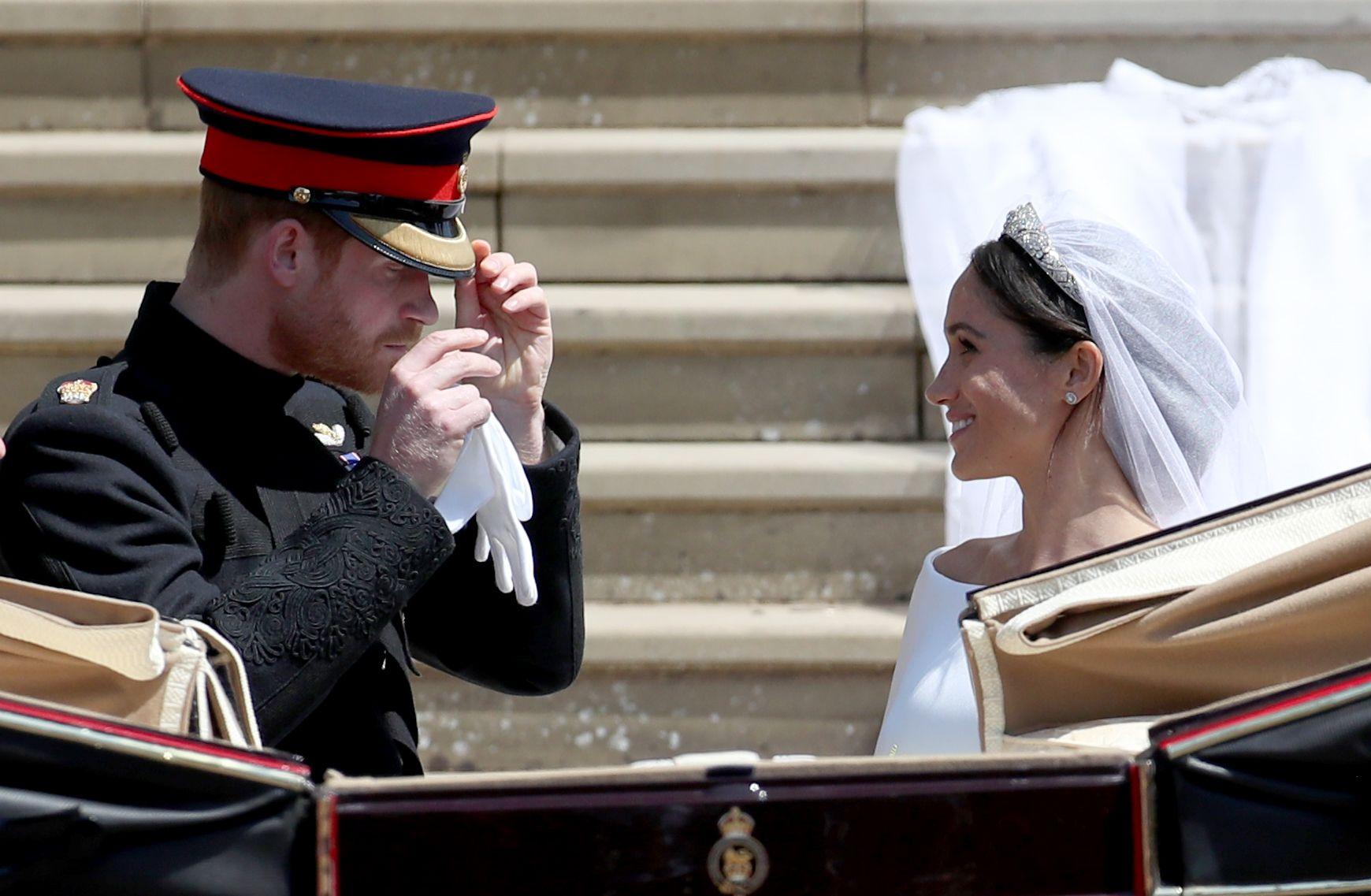Harry, Meghan, Wedding