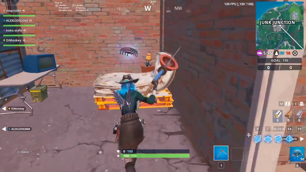 Fortnite Fortbyte 8 Location Found Within Junk Junction