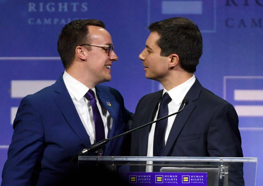 pete buttigieg husband gay marriage