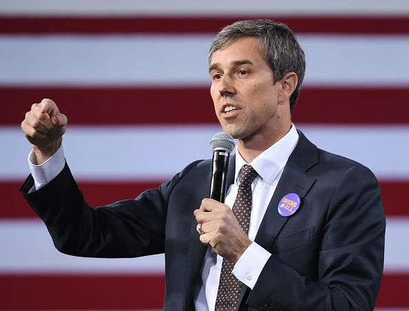 beto o'rourke speaks national forum on wages/working people