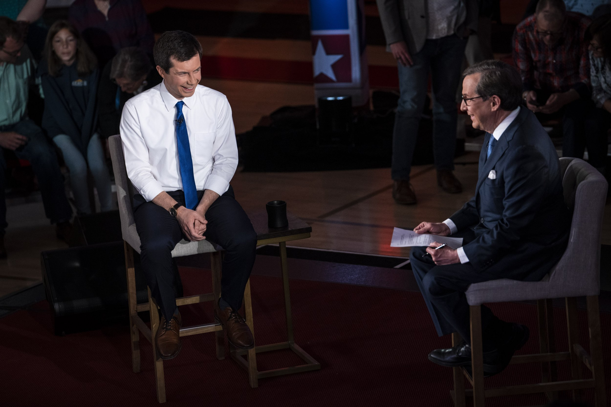 Pete Buttigieg, Chris Wallace
