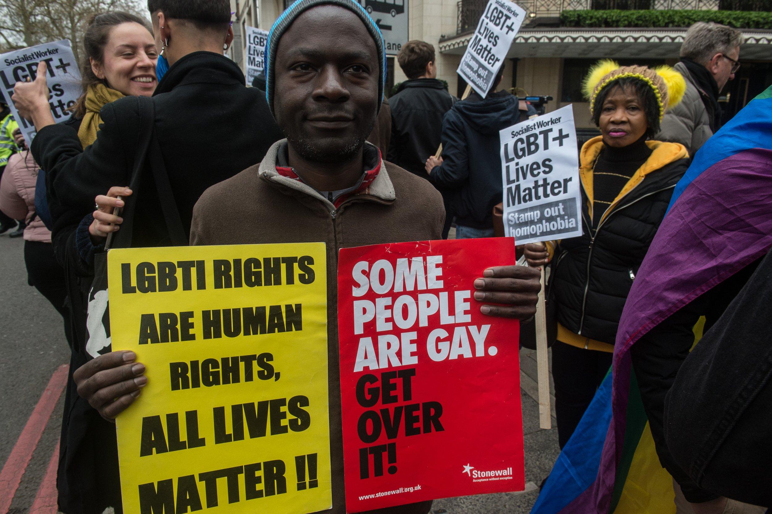 Brunei protest LGBT travel