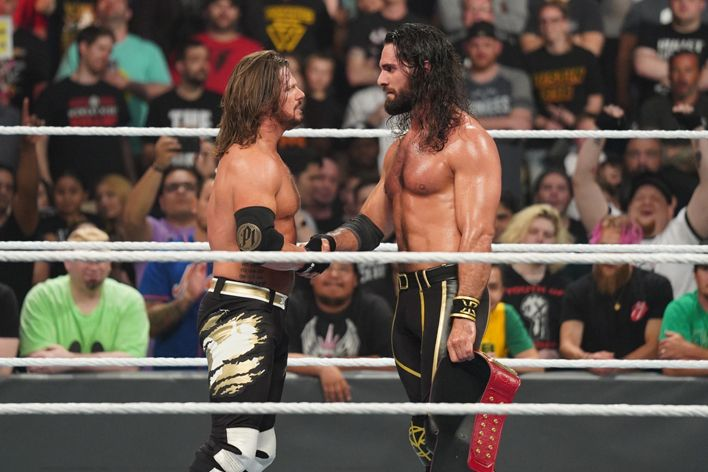 aj styles seth rollins money in the bank 2019 wwe interview