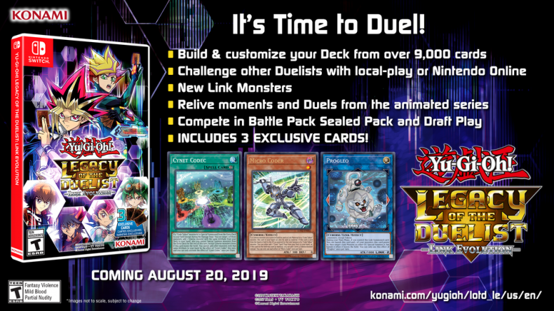 yugioh legacy of the duelist link evolution exclusive cards