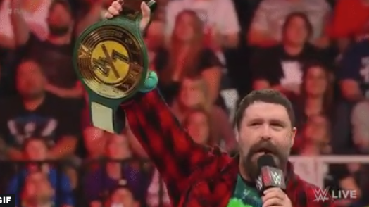 wwe 24 7 title mick foley monday night raw