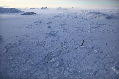 greenland, ice sheet, NASA