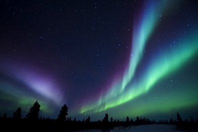 Magnetic Pole, Nothern Lights