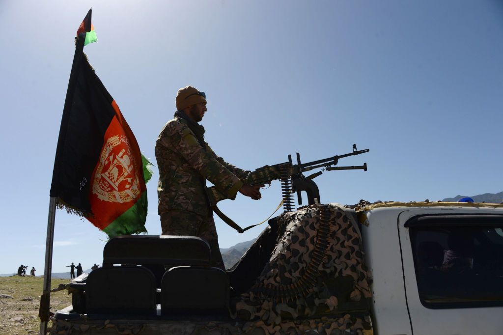 Afghan security force personnel