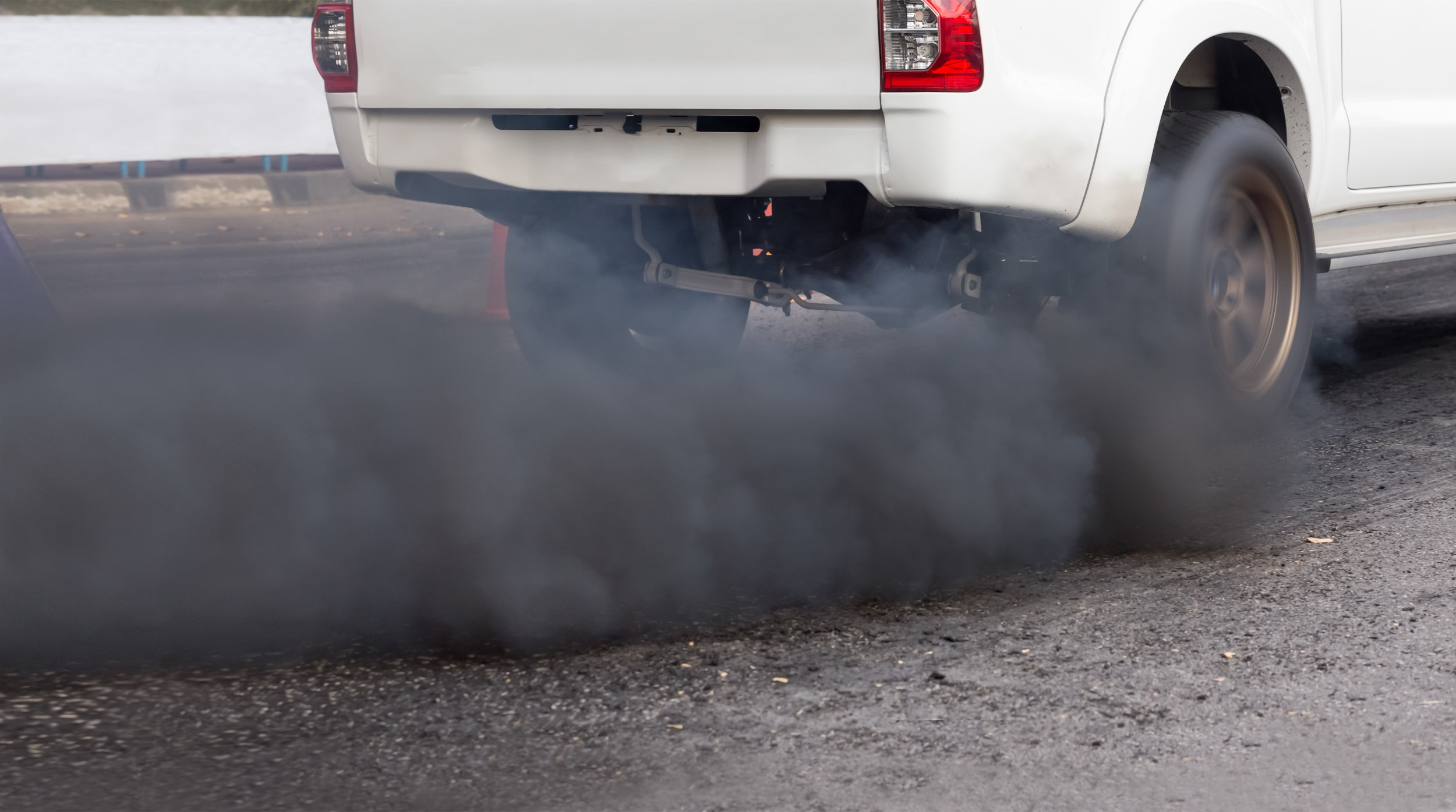 pollution car exhaust fumes stock getty