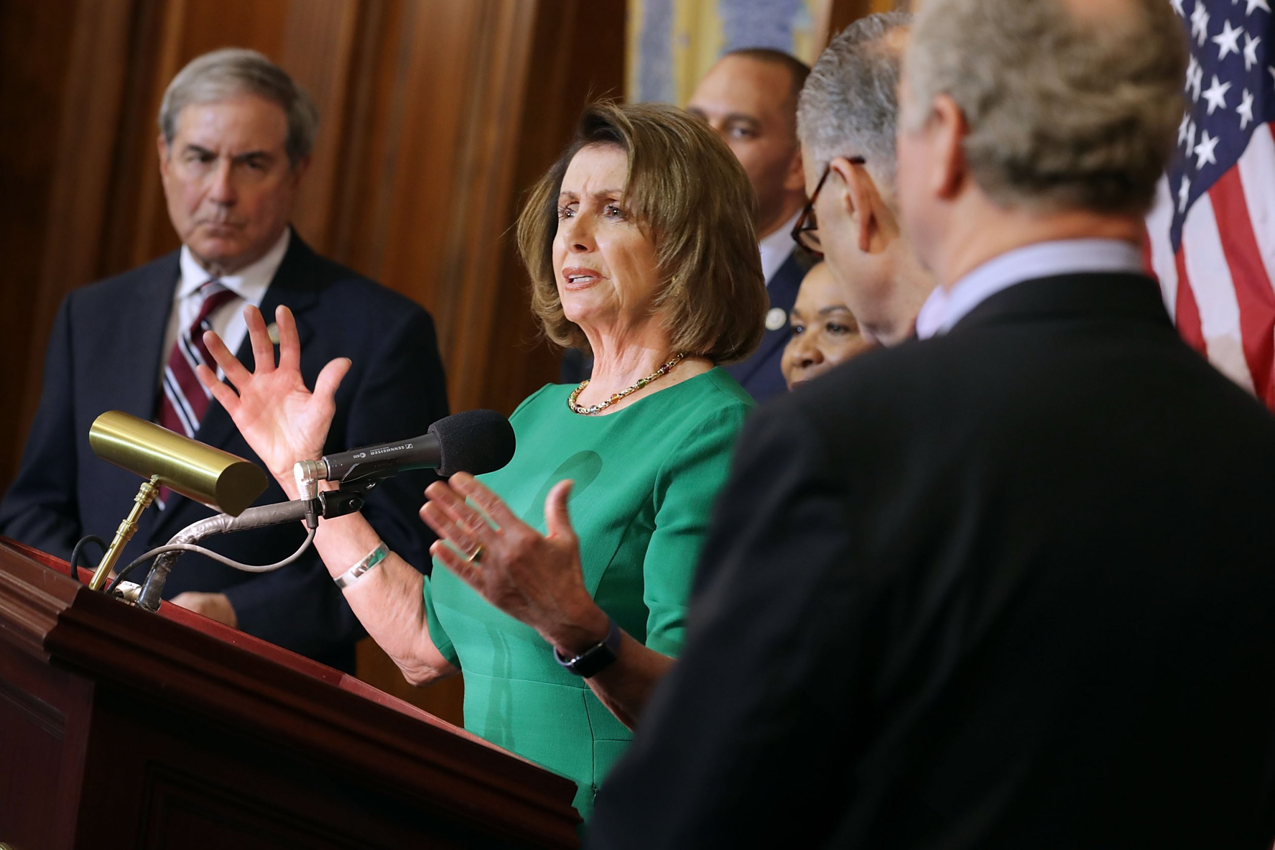 Democrats Warn House LEadership Impeachment Inquiry Inevitable