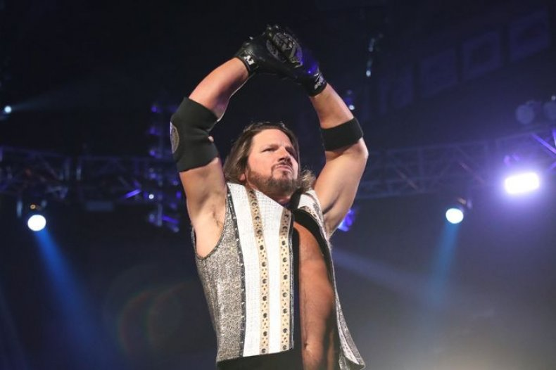 wwe aj styles interview contract