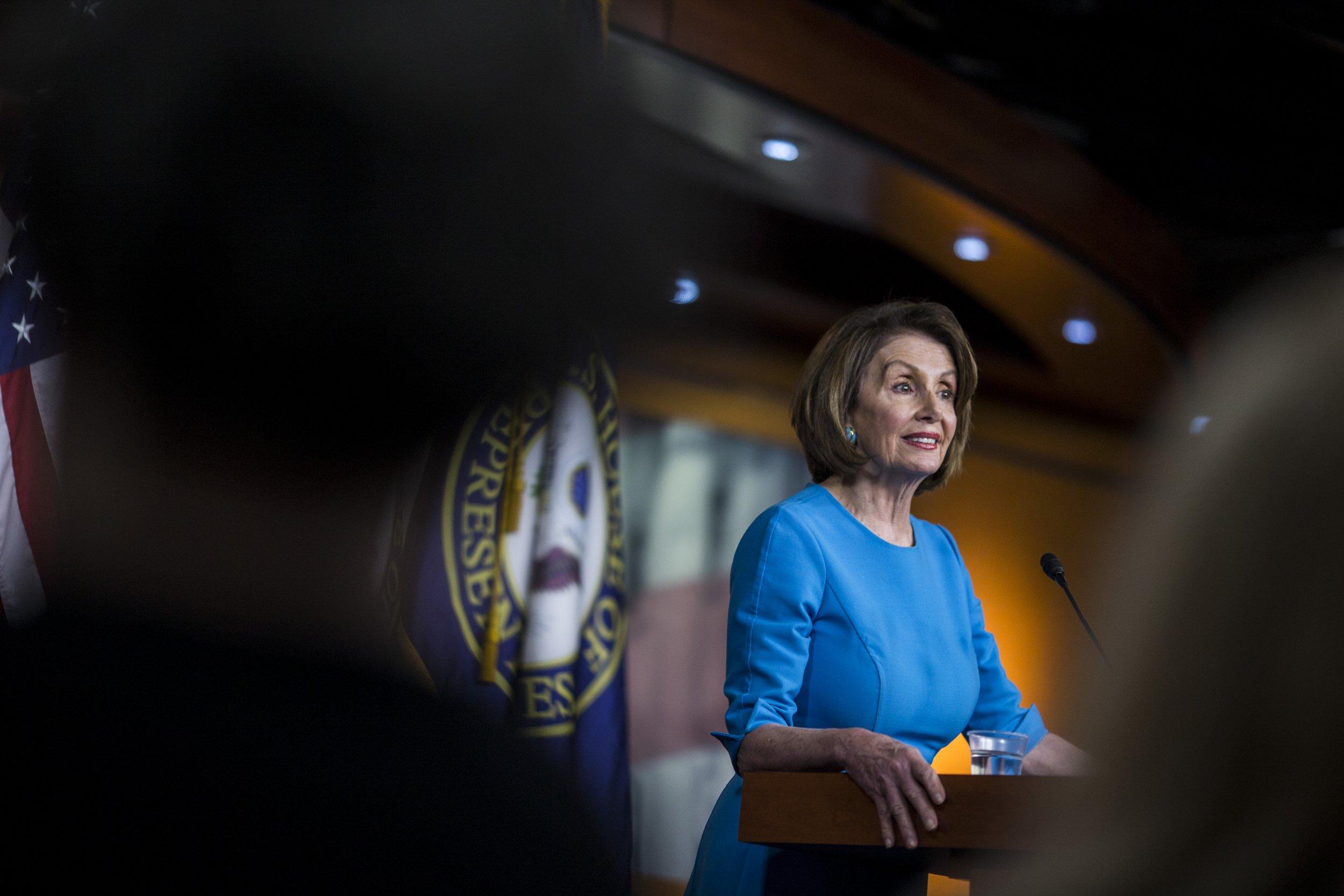 Pelosi Says She Will 'Pray' For Trump After Surprise Presser Blasting Democrats