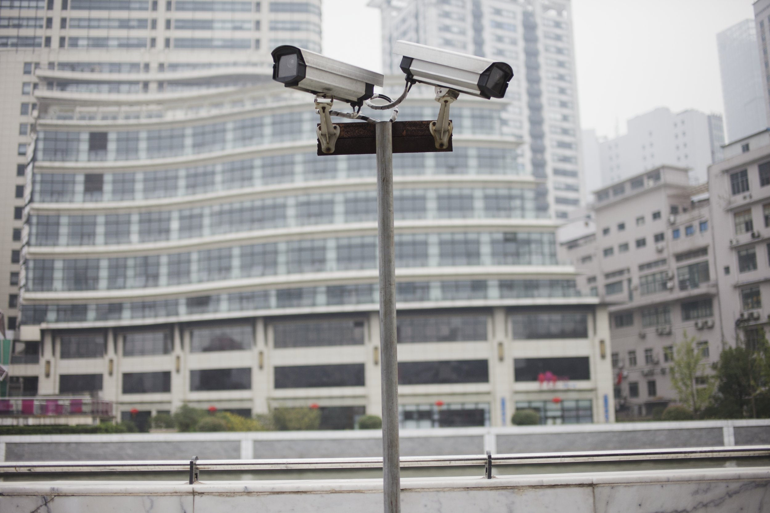 Security cameras in China