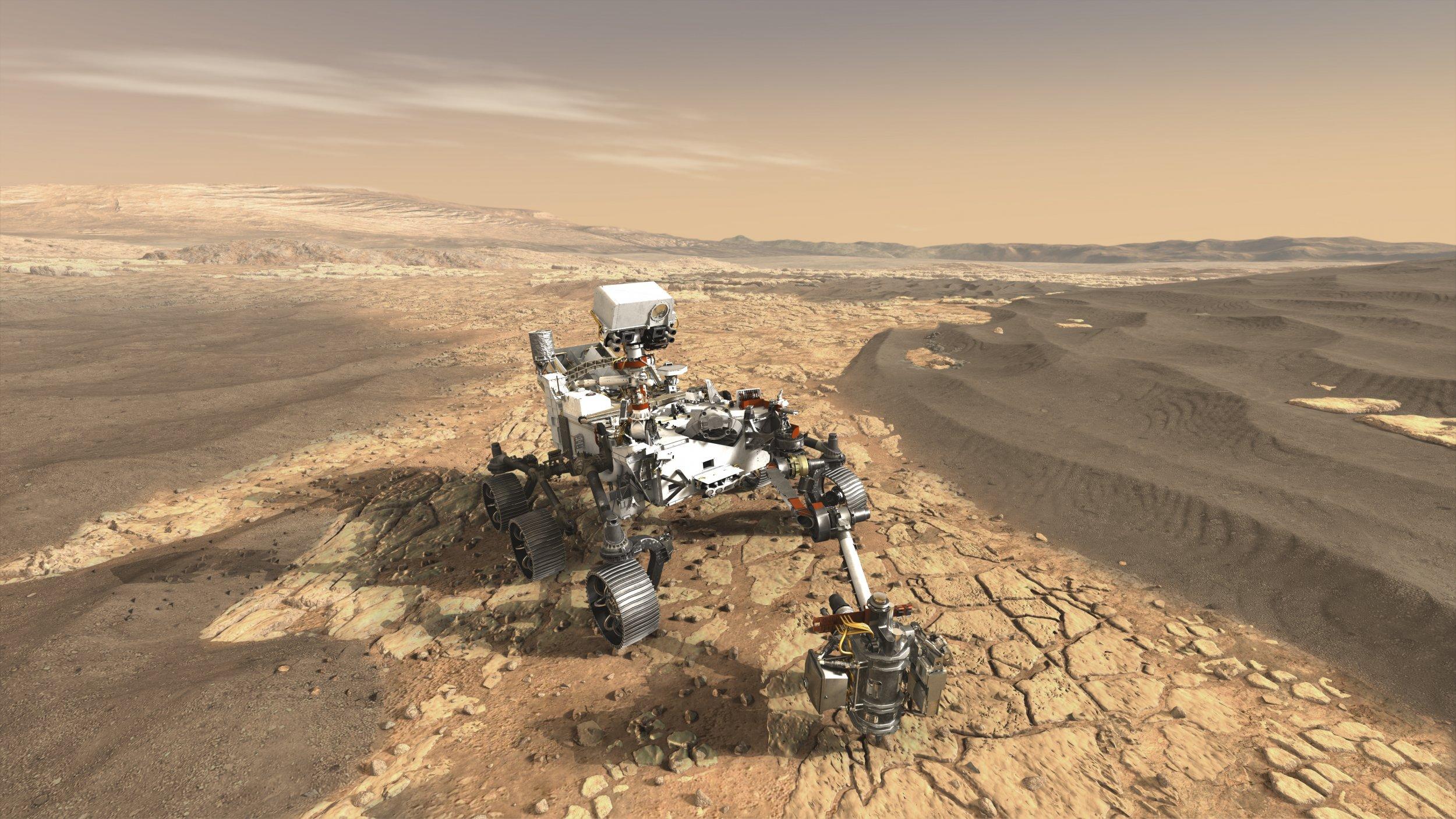 Mars 2020 rover, NASA