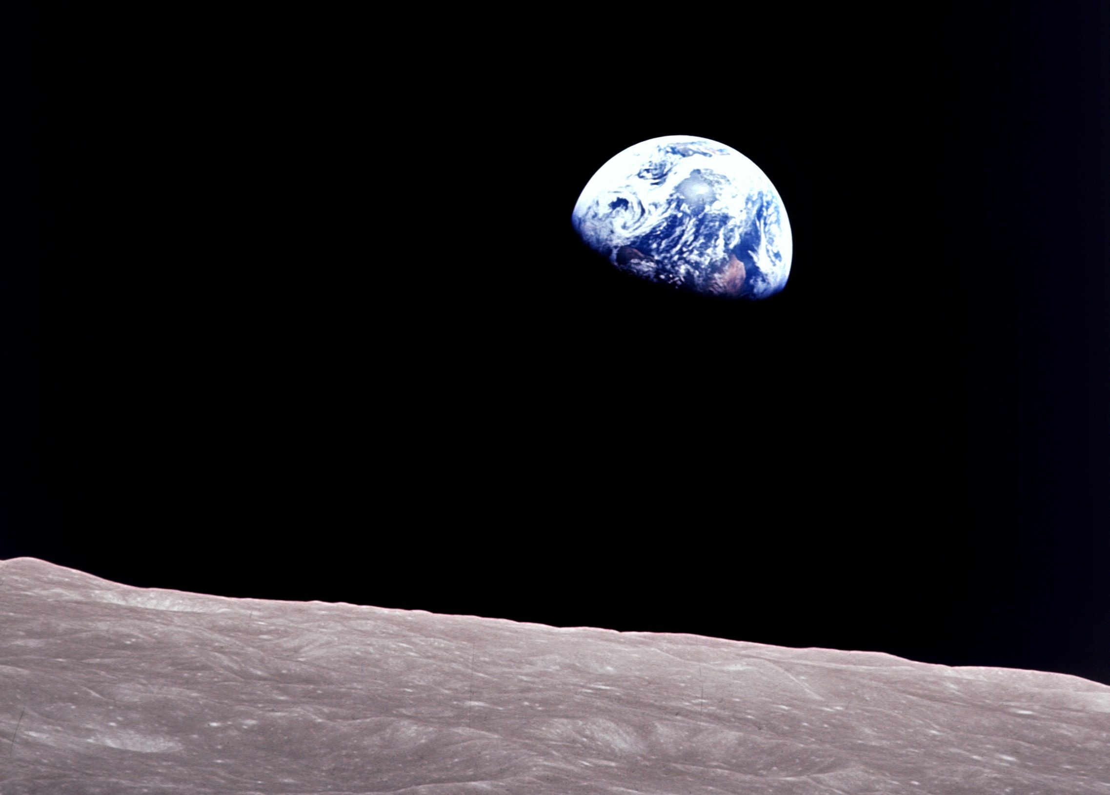 apollo 8, moon, earth, earthrise