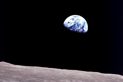 apollo 8, moon, earth, earthrise