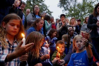 Poway Synagogue vigil