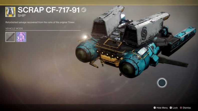 destiny 2 outbreak perfected ship