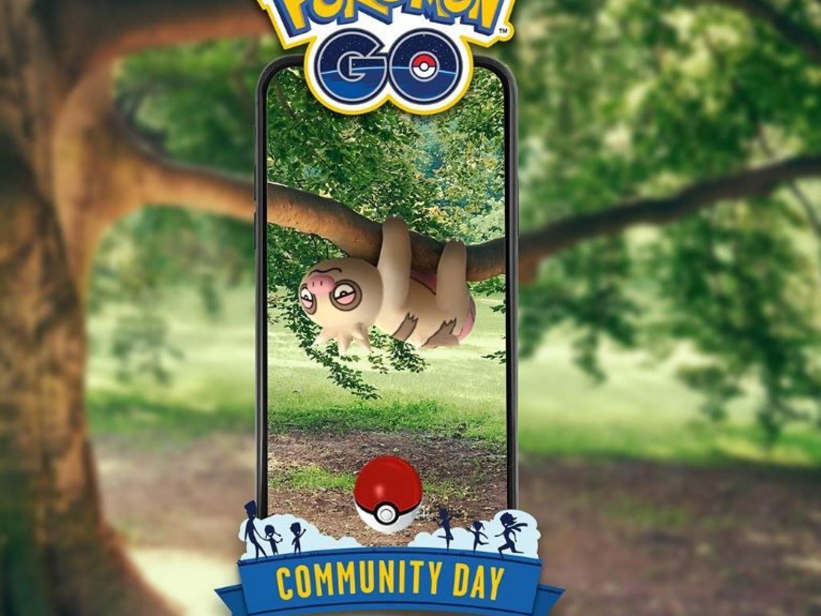 Pokémon Go' Slakoth Community Day Announced For June 8