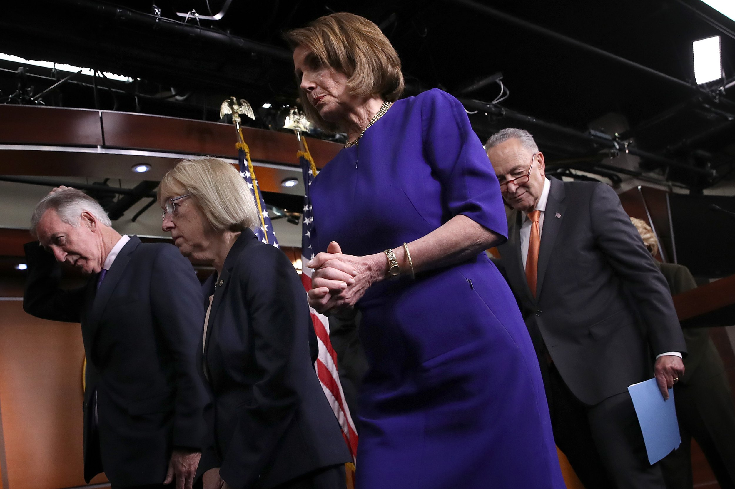 Pelosi says she prays for Trump after failed infrastructure meeting