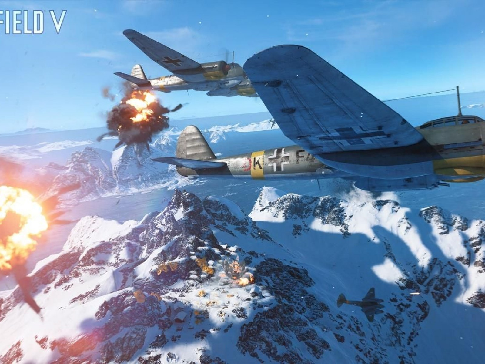Battlefield 5' Update 1 16 Fixes Bugs, Changes Firestorm Map
