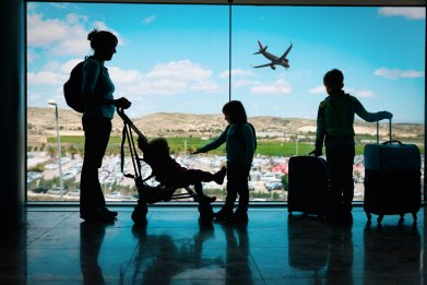 Flying with a Baby or Toddler 1