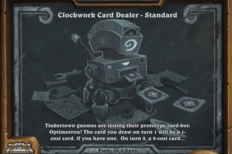 Hearthstone, Clockwork, Card, Dealer, Tavern, Brawl, Guide, best, class
