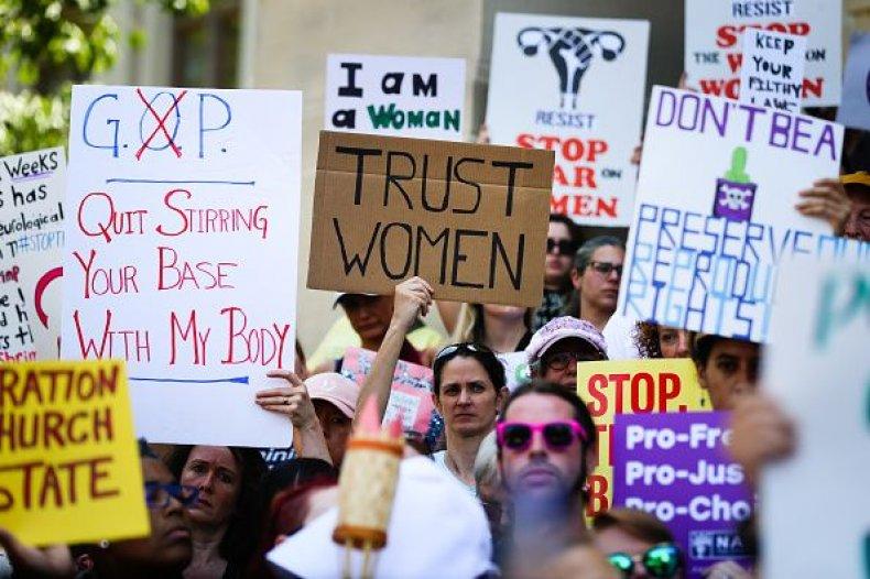 georgia abortion bill protest