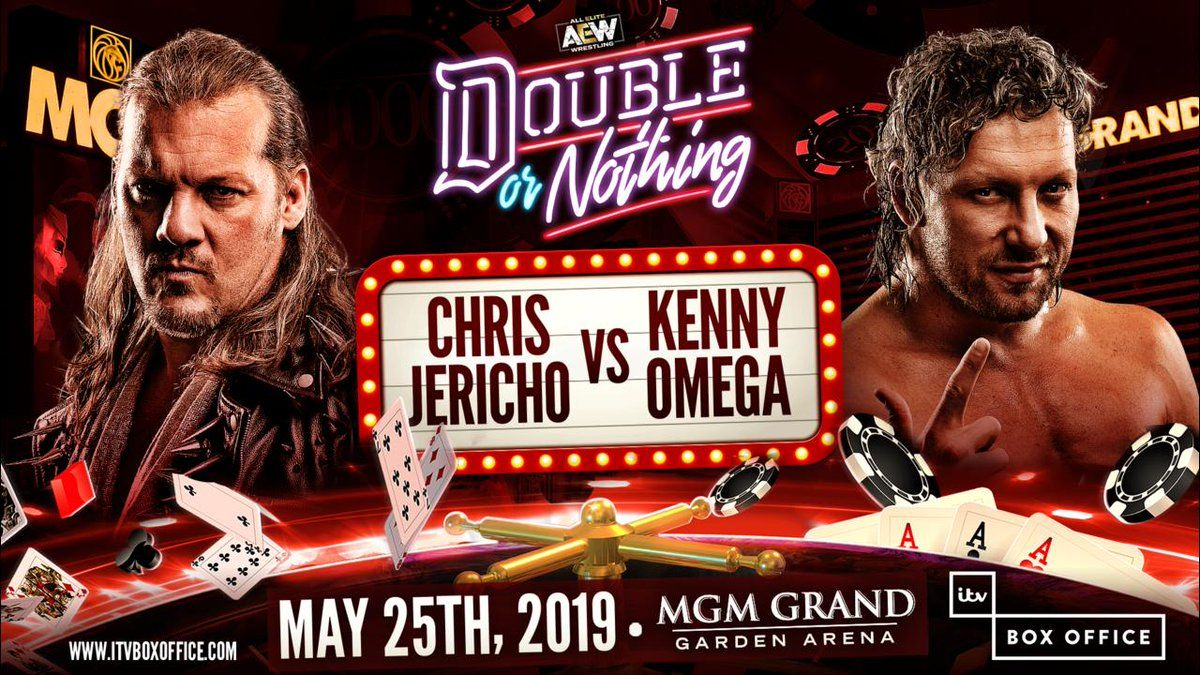 chris jericho vs kenny omega double or nothing aew