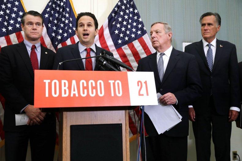 Young, Schatz, Durbin, Romney raise tobacco to 21