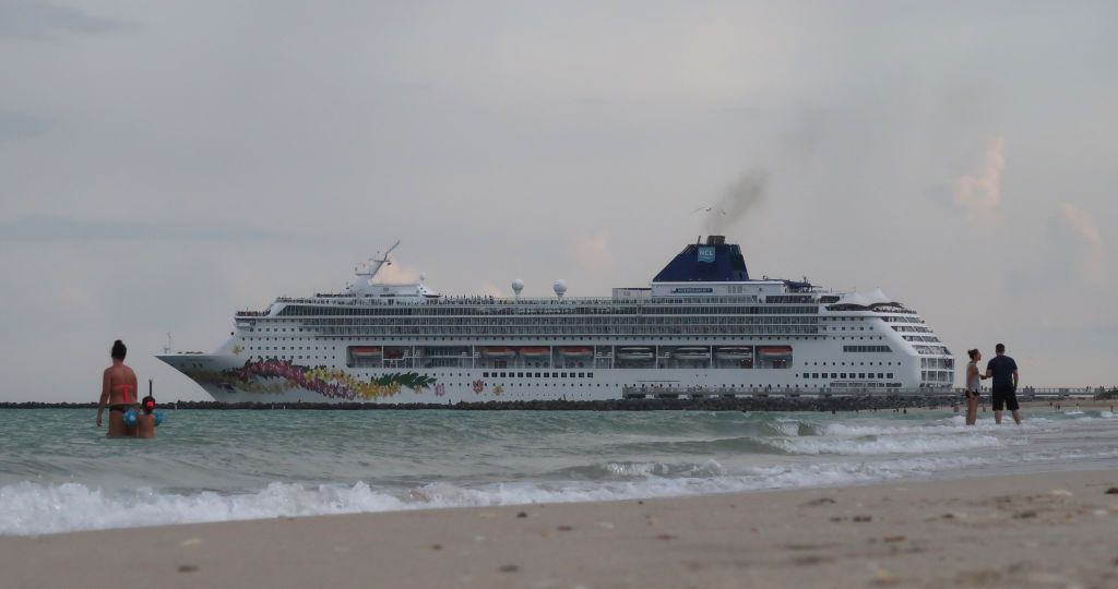 Cruise liner Norwegian Epic