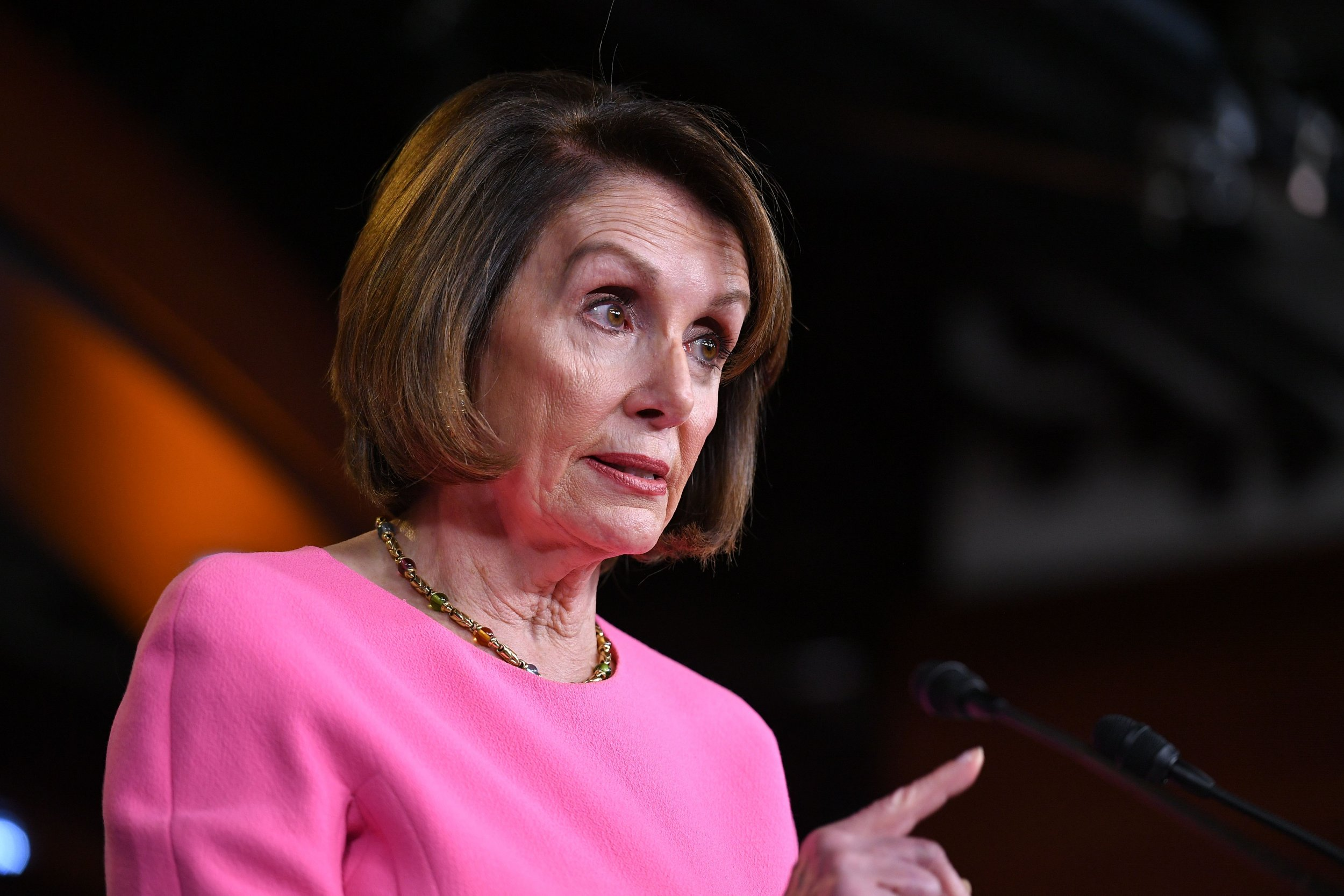 Nancy Pelosi, Trump needs an intervention