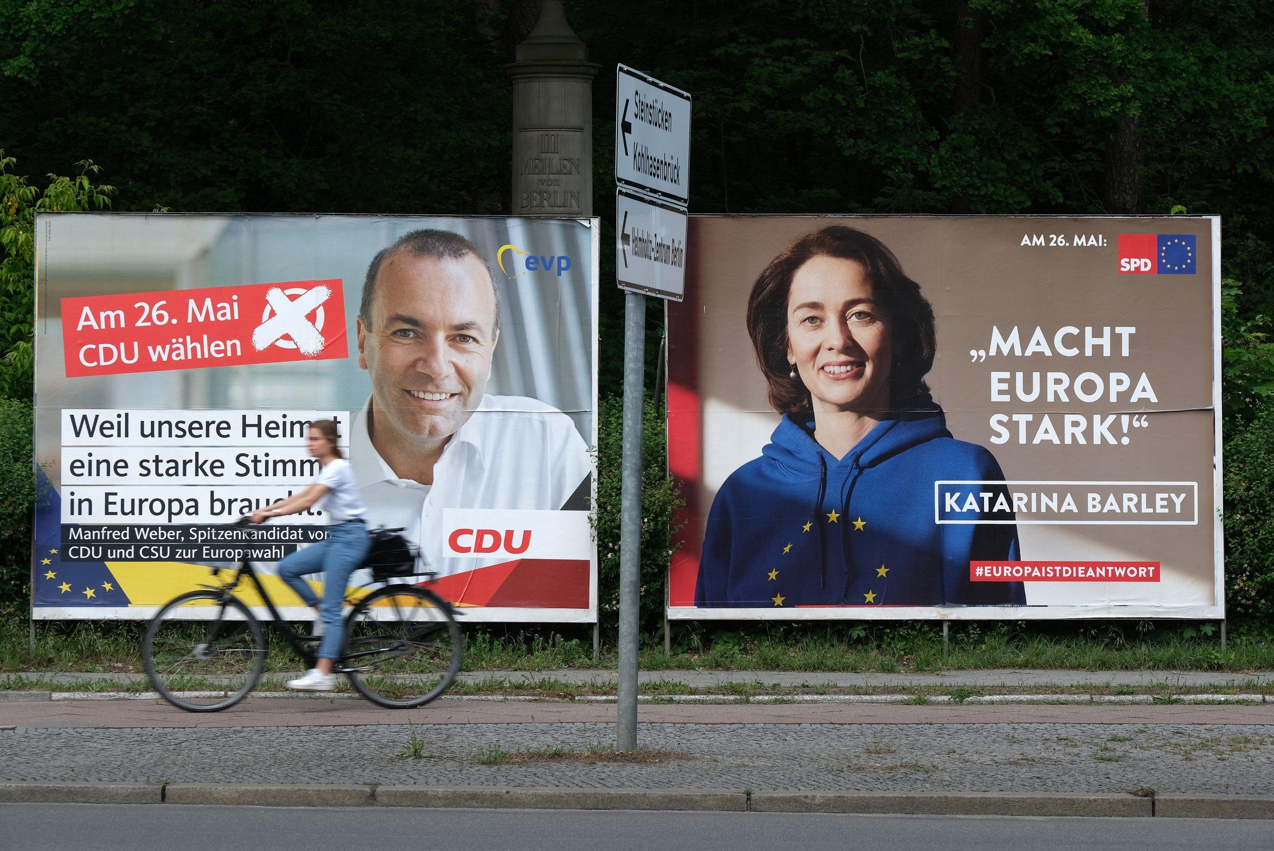 european, elections, bremen, germany, merkel, parties