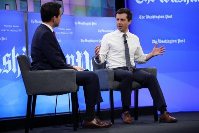 buttigieg town hall washington post vietnam draft dodge trump