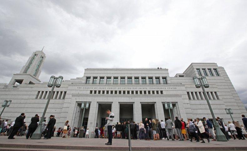 Mormon church Utah