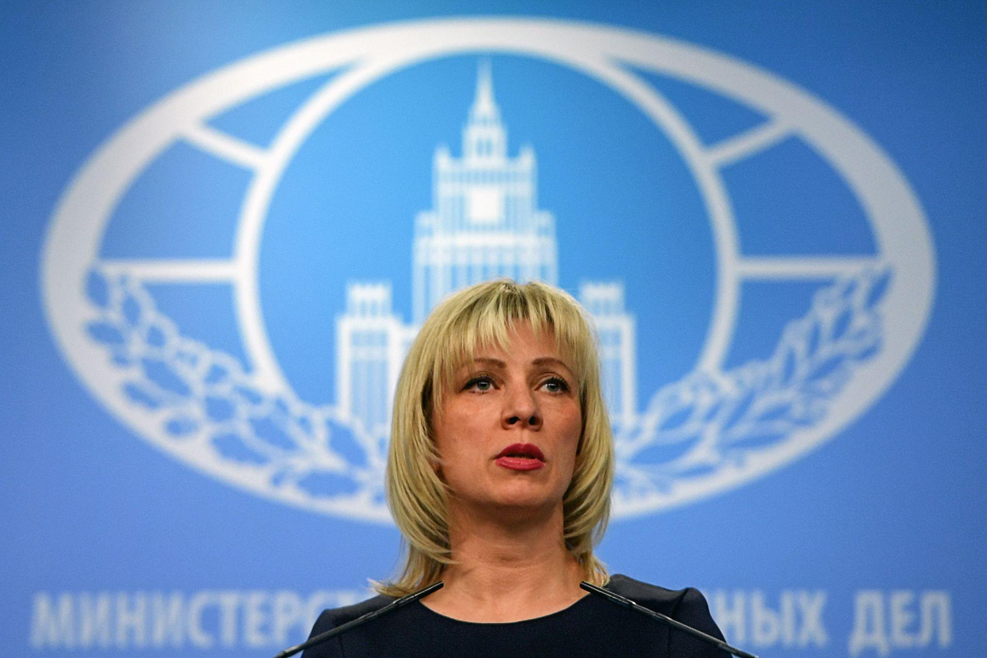 Maria Zakharova Russia Iran U.S. war