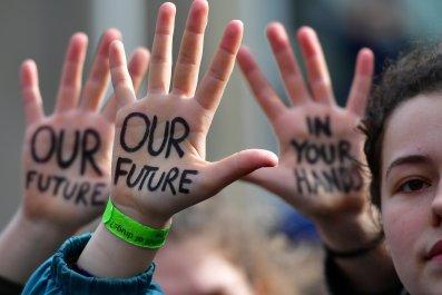 student school climate strike global warming