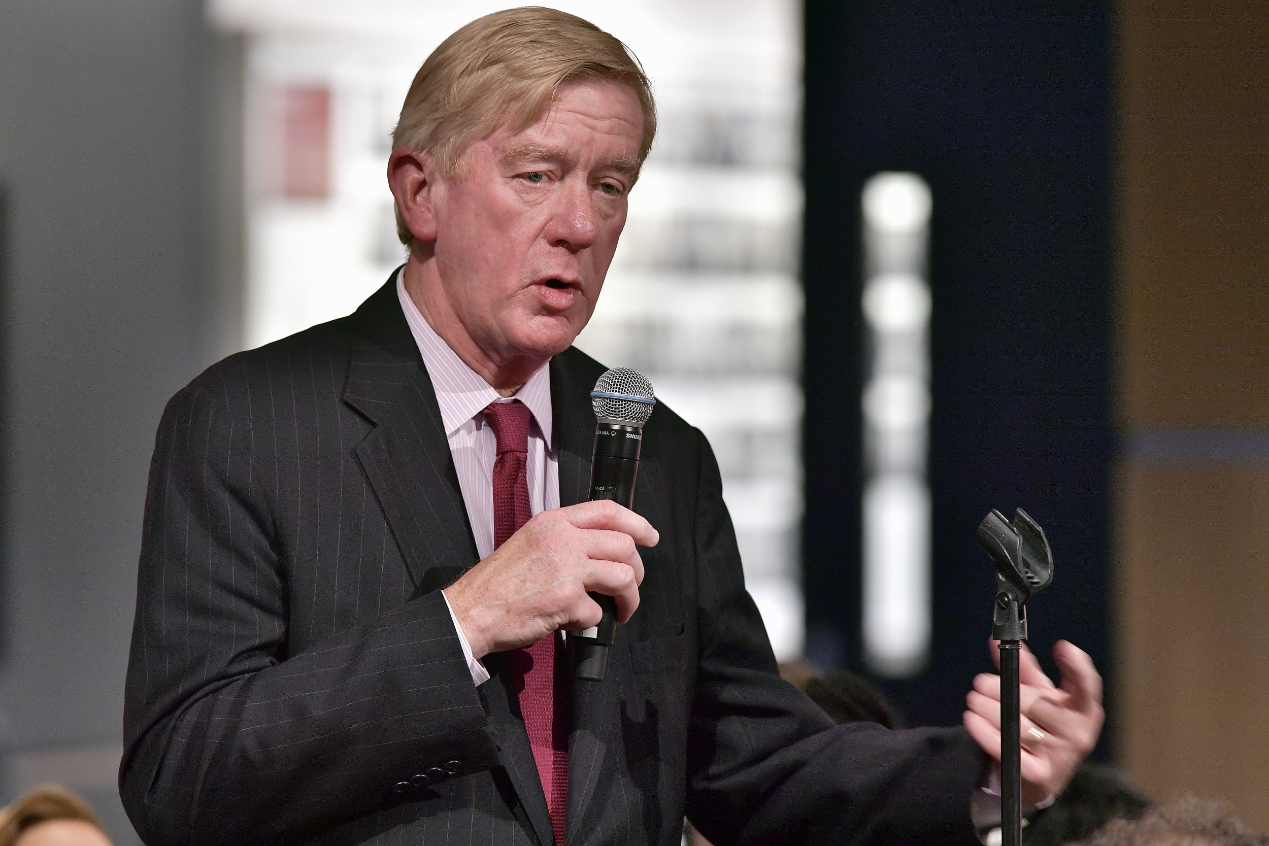Bill Weld Calims Trump Wants an Aryan Nation