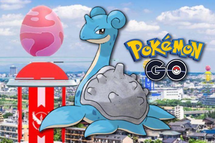 pokemon go lapras raid day start time counters