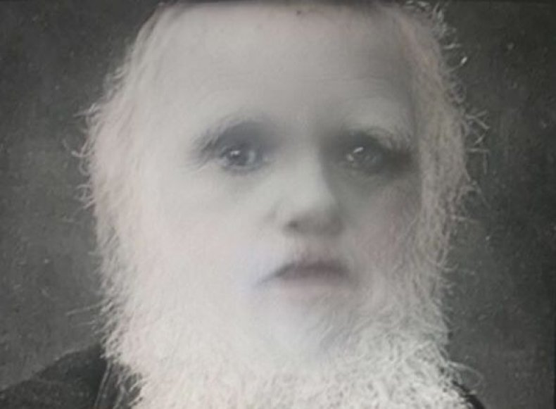 IMG_3894How to use snapchat baby face filter what app hilarious funny twitter meme photos Charles Darwin