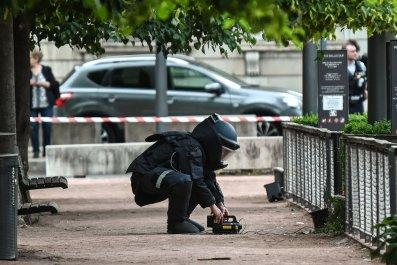 bomb lyon blast injuries terrorism