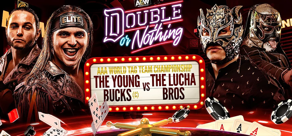 young bucks vs lucha bros double or nothing