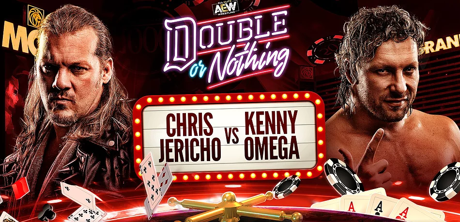 chris jericho vs kenny omega double or nothing