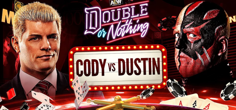 cody vs dustin double or nothing