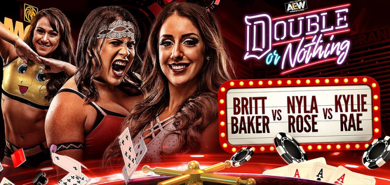 britt baker vs nyla rose vs kylie rose double or nothing