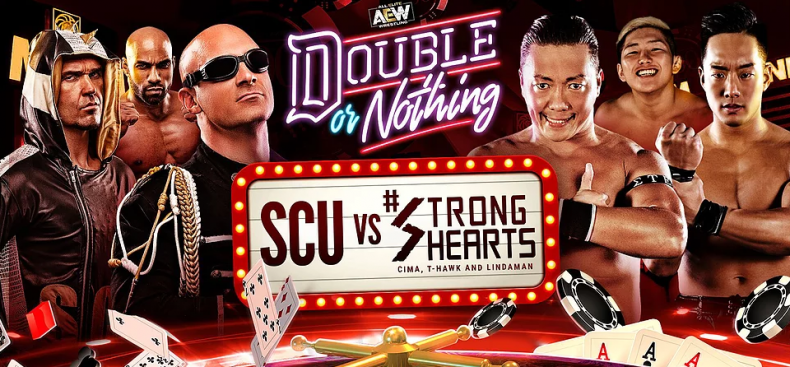 scu vs strong hearts double or nothing