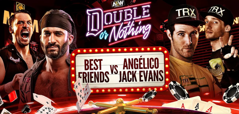 best friends vs angelico jack evans double or nothing