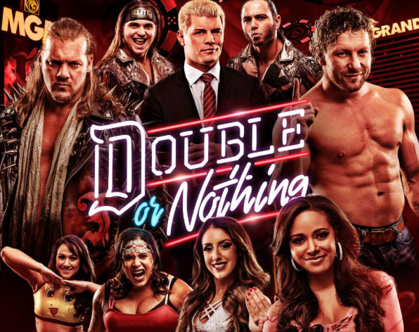 aew double or nothing live results winners