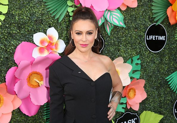 Alyssa Milano Calls Jon Voight 'F-Lister Trying to Stay Relevant' After His Pro-Trump Videos - Newsweek