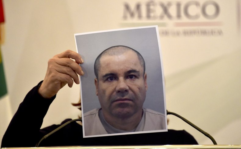 El Chapo Guzman escape jail New York exercise